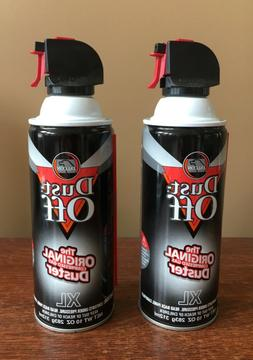 2 Falcon Dust-Off Compressed Air Electronics Lint Duster Can
