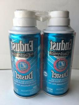 2x Endust for Electronics Duster Pack of 3.5 oz Cans
