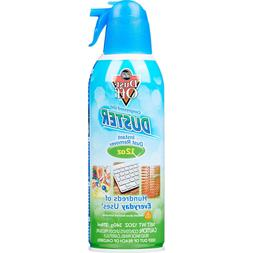 Falcon Dust, Off Compressed Gas  Disposable Cleaning Duster,